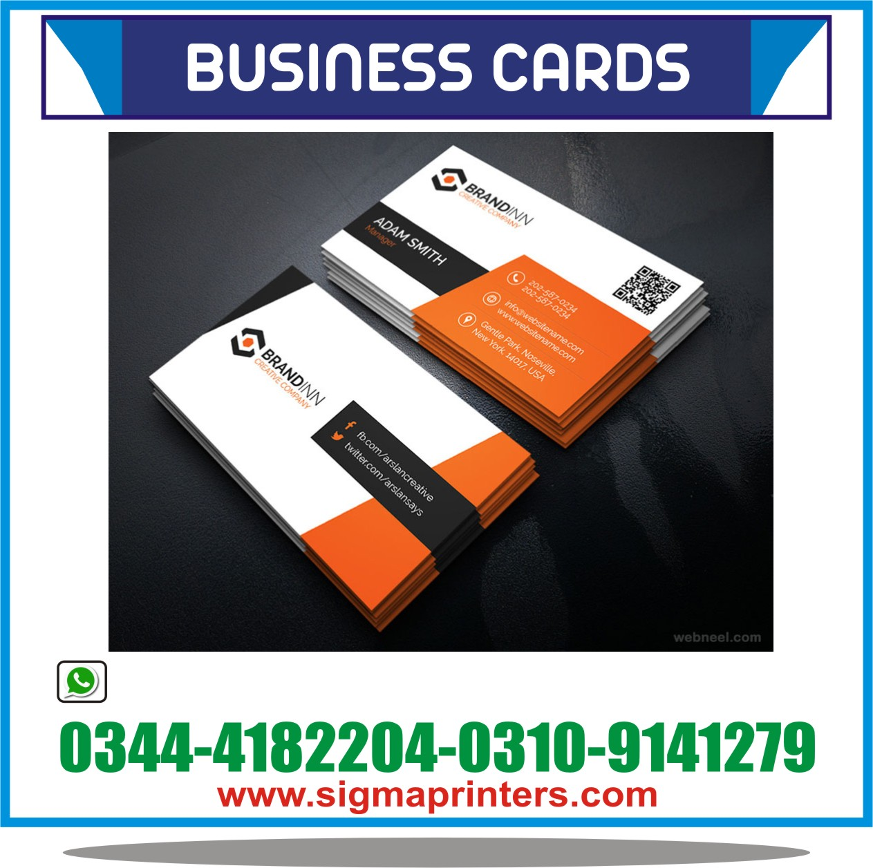 BUSINESS CARDS PRINTING | Sigma Printers