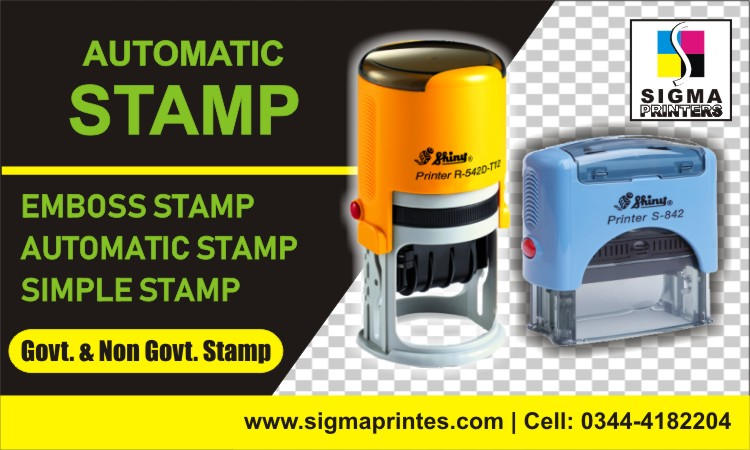 STAMP MAKER IN ISLAMABAD
